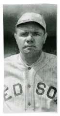 Babe Ruth, Baseball Player Hand Towel