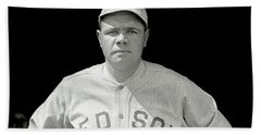 Babe Ruth Red Sox Hand Towel