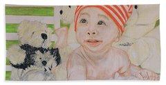 Baby And Stuff Bears Bath Towel