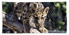 Baby Clouded Leopard Bath Towel