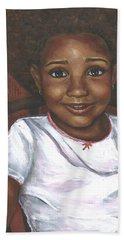 Baby Girl's Afro Bath Towel