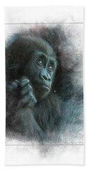 Baby Gorilla Hand Towel