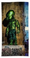 Bath Towel featuring the photograph Baby Hulk by Chris Lord