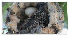 Baby Hummingbird 2 Bath Towel