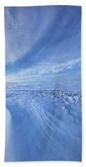 Bath Towel featuring the photograph Baby It's Cold Outside by Phil Koch