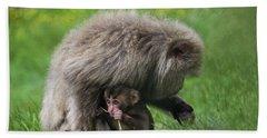 Baby Monkey Hand Towel
