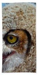 Baby Owl Hand Towel