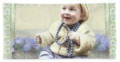 Baby Wears Beads Hand Towel