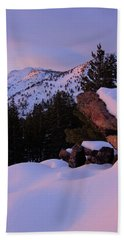 Hand Towel featuring the photograph Back Country Glow by Sean Sarsfield