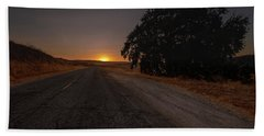 Back Road From Bradley Hand Towel