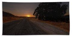 Back Road From Bradley Bath Towel