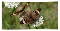 Back To Back Butterflies Hand Towel