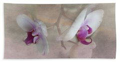 Bath Towel featuring the photograph Back To Back by Judy Hall-Folde