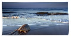 Back To The Sea Hand Towel by Edward Kreis