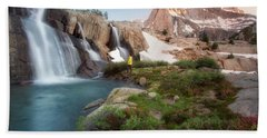 Backcountry Views Hand Towel by Nicki Frates