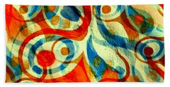 Background Choice Coffee Time Abstract Hand Towel