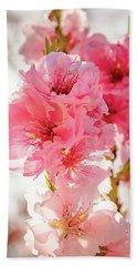 Backlit Blossoms Hand Towel