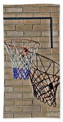 Backyard Basketball Hand Towel