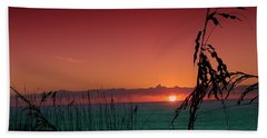 Bad East Coast Sunrise  Bath Towel
