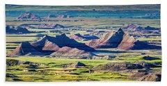 Badlands National Park Bath Towel