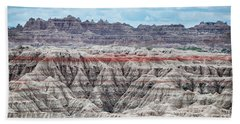 Badlands National Park Vista Hand Towel