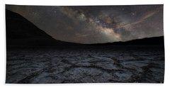 Badwater Basin Milky Way Bath Towel