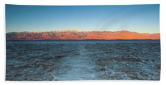Bath Towel featuring the photograph Badwater  by Catherine Lau