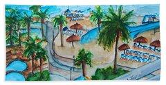 Bahamas Balcony Bath Towel