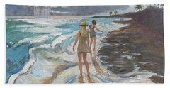 Bahia Honda Beach Hand Towel