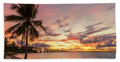 Bahia Honda State Park Sunset Bath Towel