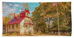 Baileys Harbor Keepers House Hand Towel