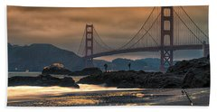 Baker Beach Golden Gate Bath Towel