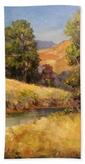 Bakesfield Creek Afternoon Bath Towel
