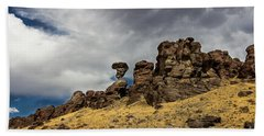 Balanced Rock Adventure Photography By Kaylyn Franks Hand Towel