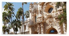 Bath Towel featuring the photograph Balboa Park Architecture Beauty by Jasna Gopic