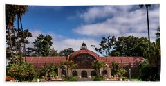 Balboa Park Bath Towel by Martina Thompson