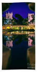 Balboa Park Reflections  Hand Towel
