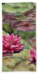 Balboa Water Lilies Bath Towel