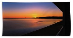 Balcony Sunrise Hand Towel