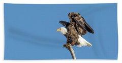 Bald Eagle Hand Towel
