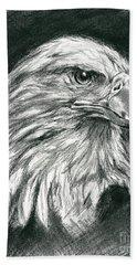 Bald Eagle Intensity Hand Towel