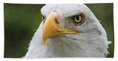 Bald Eagle Slick Back Bath Towel
