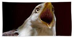 Bald Eagle - The Great Call Bath Towel
