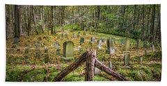Bales Cemetery Bath Towel by Patrick Shupert