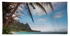 Bali Hai Tunnels Beach Haena Kauai Hawaii Bath Towel