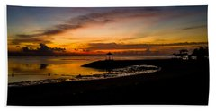 Bali Sunrise I Bath Towel by M G Whittingham