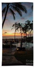 Bali Sunset Hand Towel