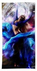 Ballerina Dance009-a Hand Towel by Gull G