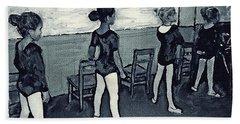 Ballet Class Monochrome Hand Towel