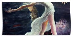 Ballet Dancer 2 Bath Towel